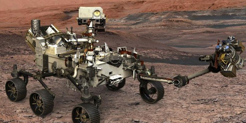 Exxelia Yine Mars'ta!