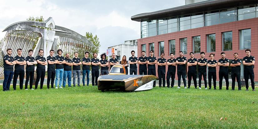 ITU Güneş Arabası Ekibi Belçika'da Yarışıyor