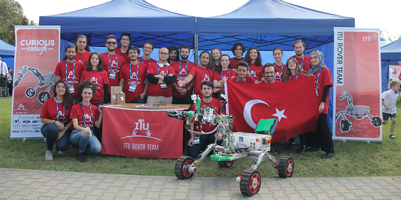 ITU Rover Team European Rover Challenge 2021'de 2 Ödül Kazandı