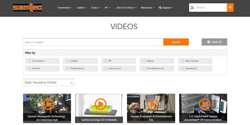 Samtec.com Mayıs Ayı Güncellemelerini Keşfedin