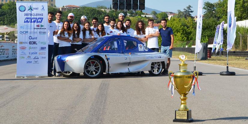 TÜBİTAK Efficieny Challenge Electric Vehicle Yarışları