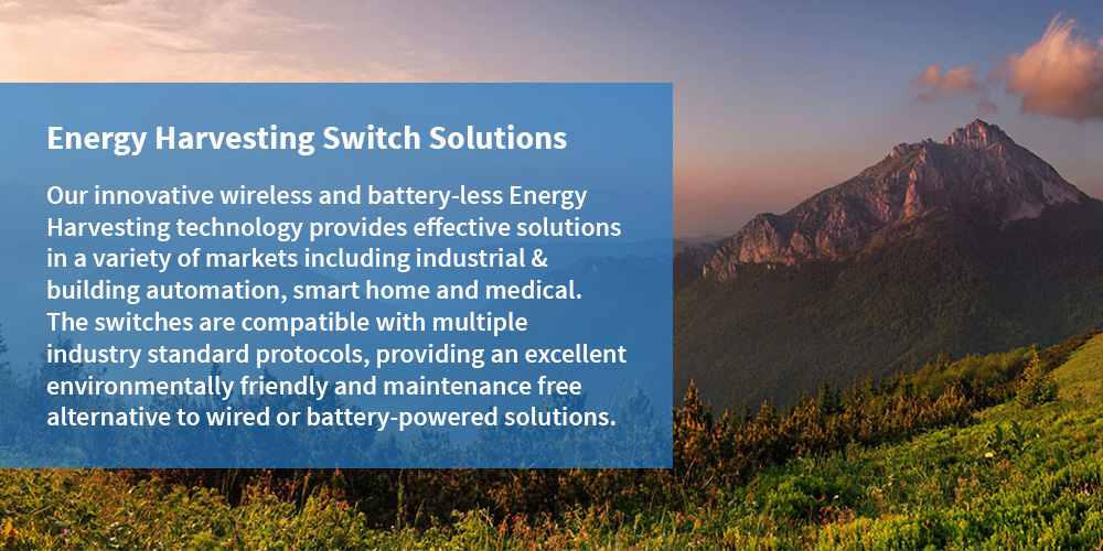 Energy Harvesting Switch Solutions