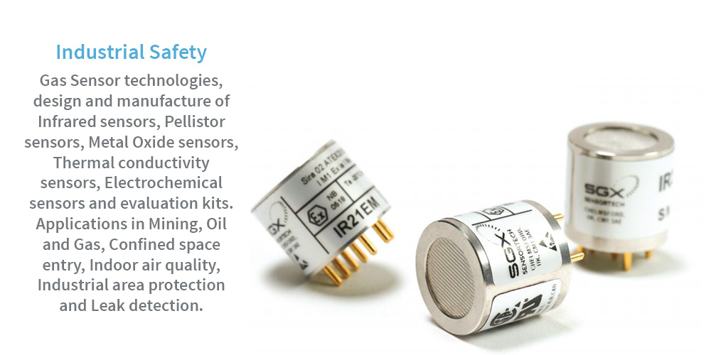 SGX Sensortech Safety