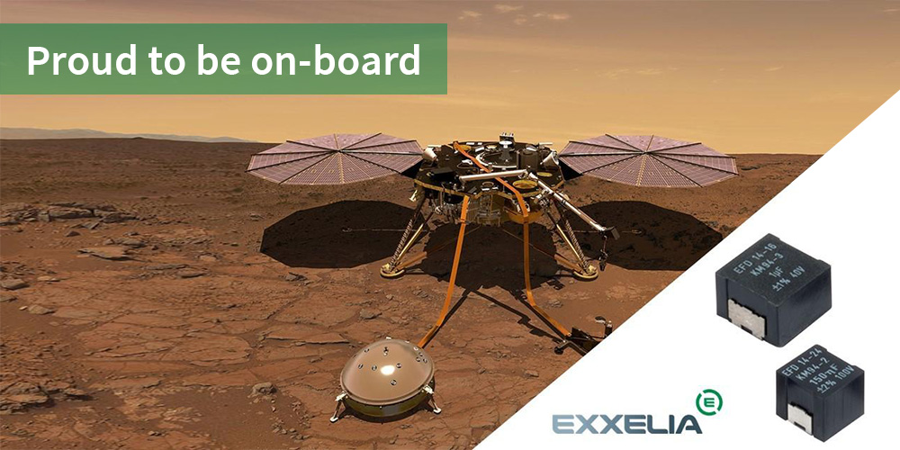 Exxelia Proud to be on-board