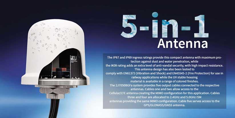 2J 5-in-1 Anten