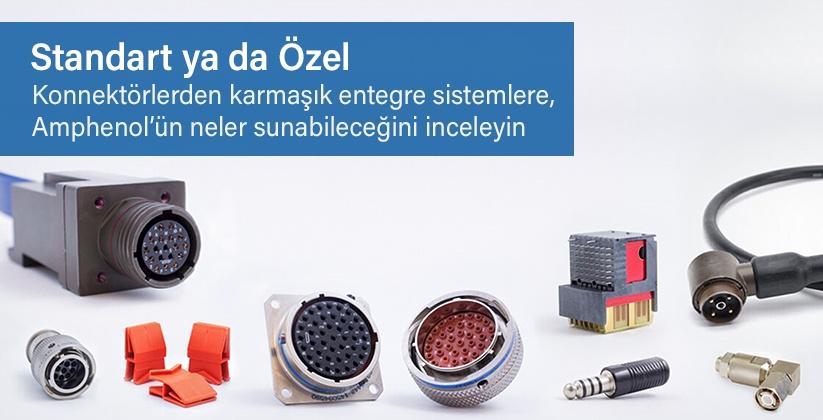 Amphenol Türkiye Distribütörü EKOM Elektronik