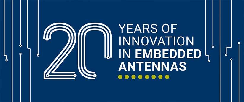 Antenova Gömülü Antenlerde 20 Yıl