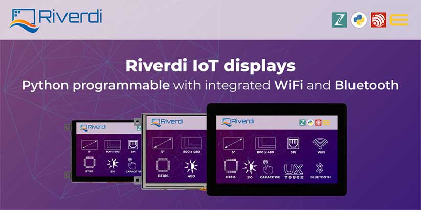 Riverdi - IoT Ekranlar