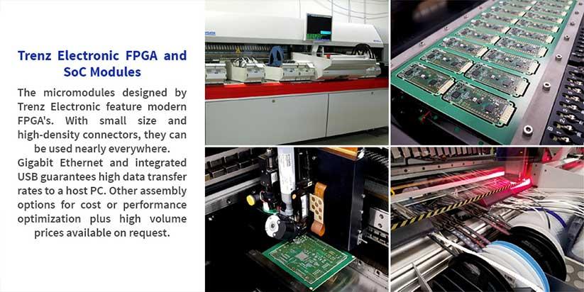 Trenz Electronic - FPGA ve SoC Modüller