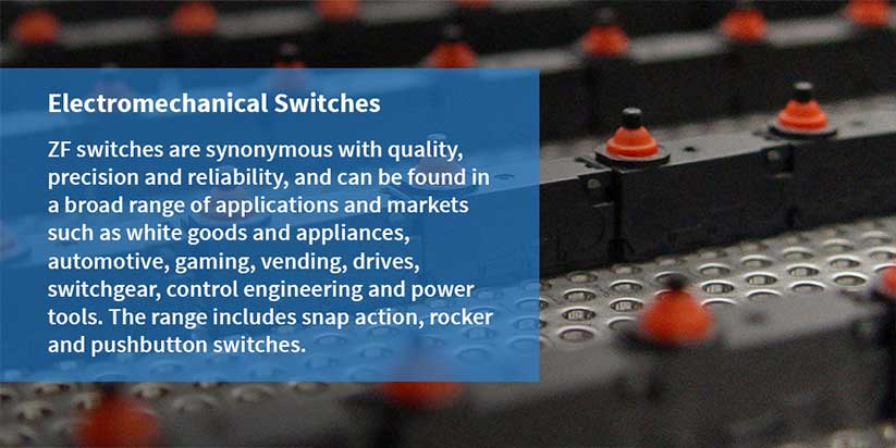 ZF - Elektromekanik Anahtarlar